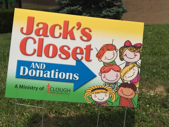 Jack's Closet is a ministry of Clough Methodist Church