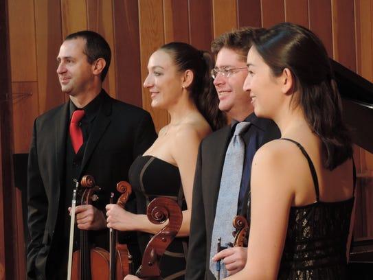 The Pacific Crest Music Festival Quartet.
