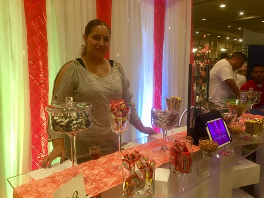 Vendors at the Middlesex County Chamber of Commerce