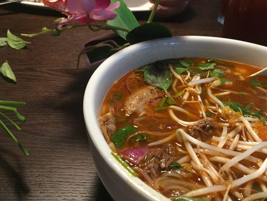 Vietnamese beef stew at Lemongrass in the Centre of