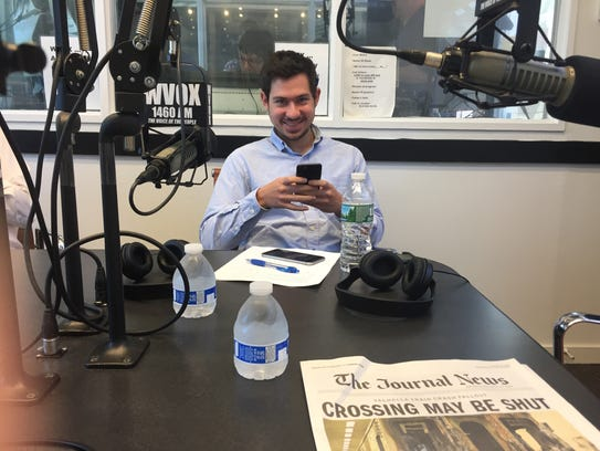 """First-time guest on WVOX's """"Above the Fold"""" Gabriel"""