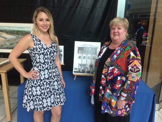 Old Hickory Mall Marketing Director Kristina Francese