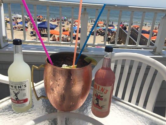 The Mango Mega Mule at Mango's in Bethany Beach. The