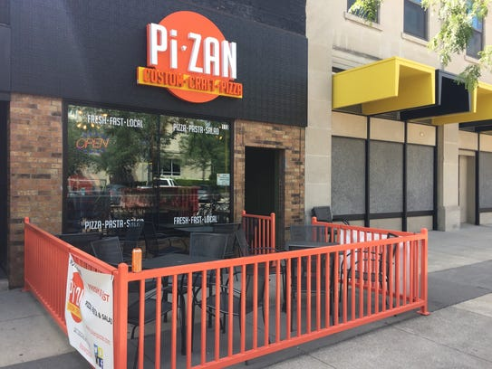 PiZan Pizza is shown on Aug.7, 2017.