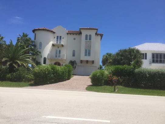This beachfront beauty off Highway A1A in Melbourne