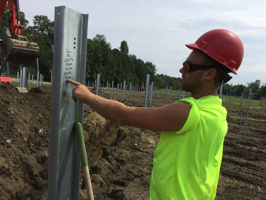 Bullrock Corp. construction worker Chris Laframboise
