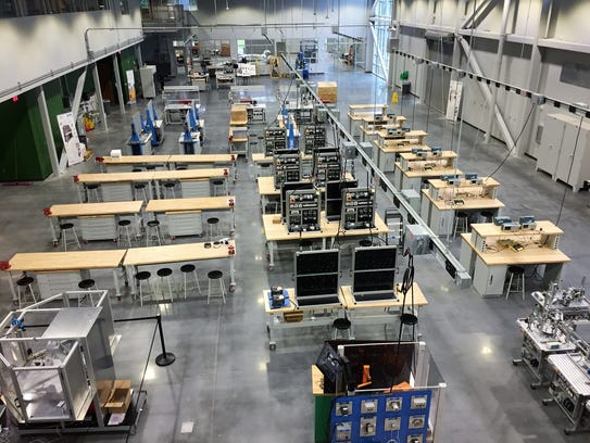 Greenville Tech's $25 million Center for Manufacturing