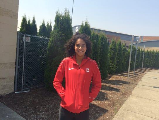 Former West Salem athlete Keira McCarrell recently