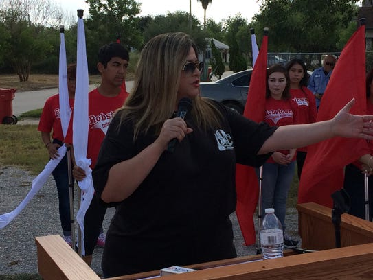 Robstown Mayor Mandy Barrera was behind the effort