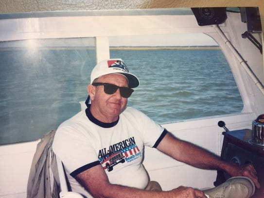Captain Bobby Turner is shown on his boat, the Bobby