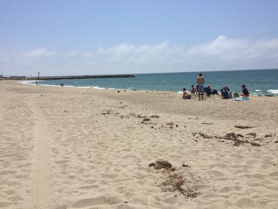 Silver Strand Beach is one of the sites where volunteers