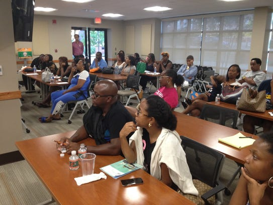 Parents of displaced FAMU freshman met Wednesday night