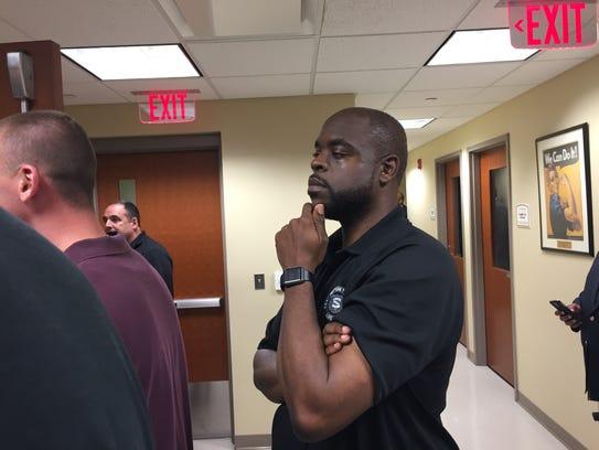 Kyheem Davis is suing Neptune, alleging he was unfairly