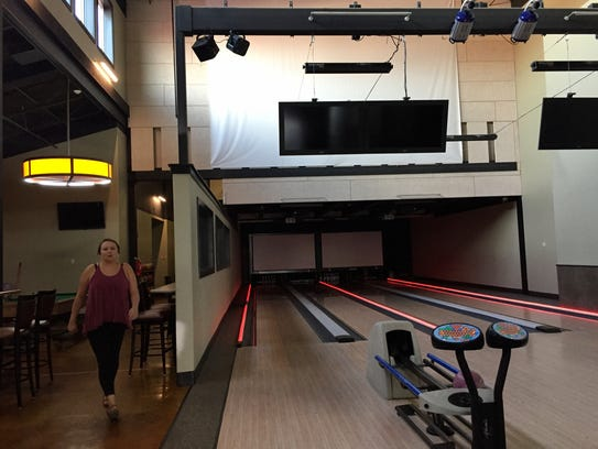 Winifred has a fancy new bowling alley.