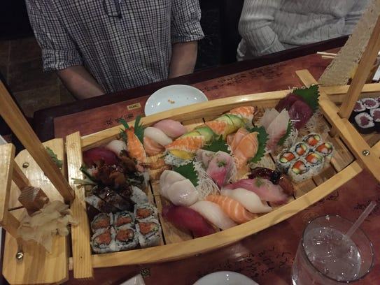 "You can get a ""boatload"" of sushi at Sakura Japanese"