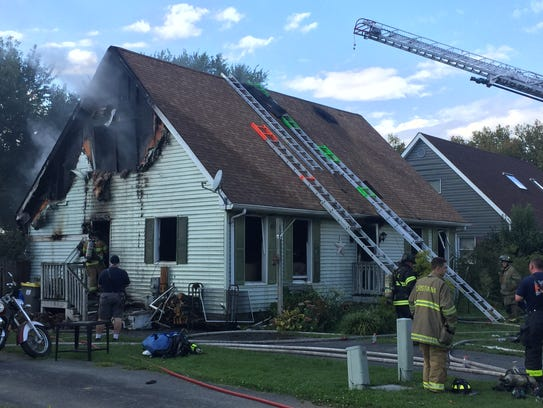 Multiple fire crews were called to the Laurel Hills