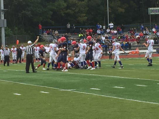 Host Chenango Forks and Owego untangle after a play