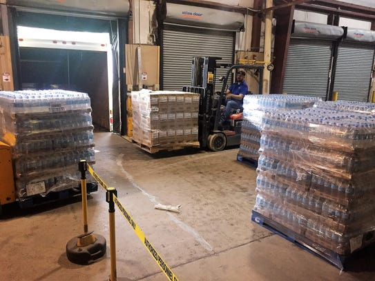 You can donate unused hurricane supplies like bottled