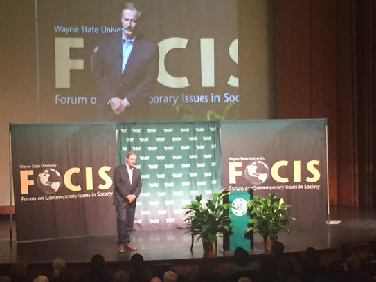 Vicente Fox, former president of Mexico, was the keynote
