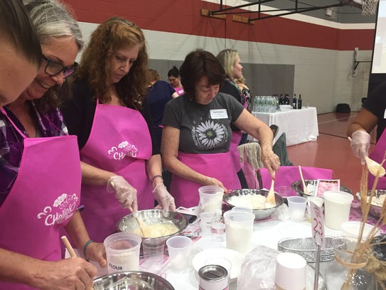 On Sept. 14, more than 380 women came together to bake