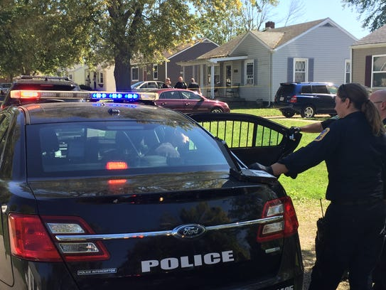 City police were called to the scene of a shooting