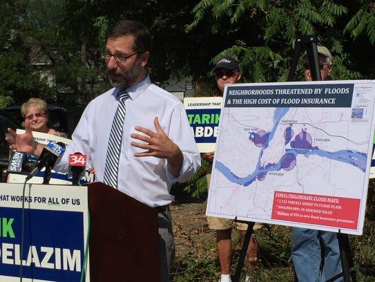 Democratic candidate for Binghamton mayor Tarik Abdelazim