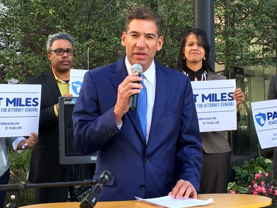 Pat Miles, Democratic candidate for Attorney General