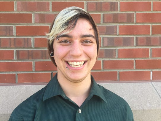 Ryan Roy, a transgender student at Rochester Institute