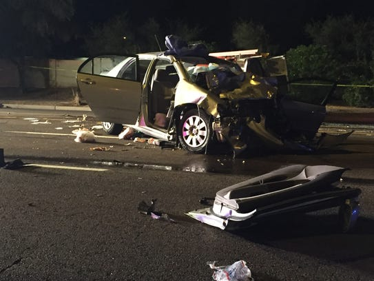 Two people were killed in a traffic crash in Tempe