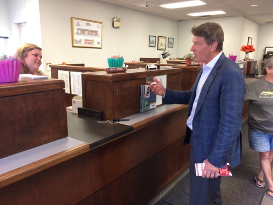 Randy Boyd, who is running for Tennessee governor in