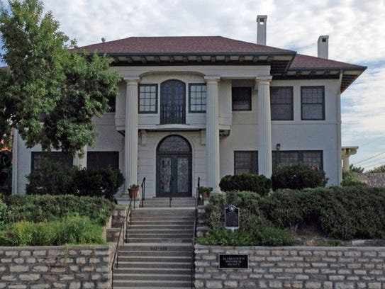 The Burges House, 603 W. Yandell Dr., is the headquarters