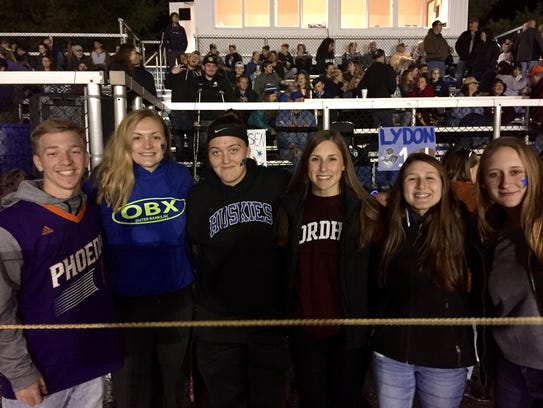 Pine Plains athletes, past and present, came to cheer