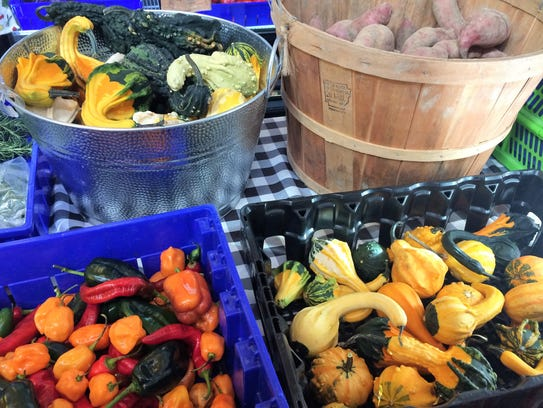 Seven Springs Farm partners with other local growers to provide seasonal products for their CSA program
