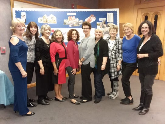 (Left to right) Members of Hadassah's executive board: