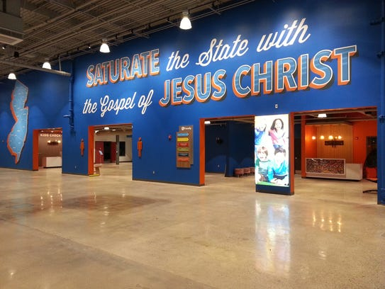 The Liquid Church will open its new permanent location