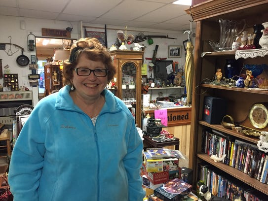 Delores Wimer, proprietor of the Stand Alone furniture