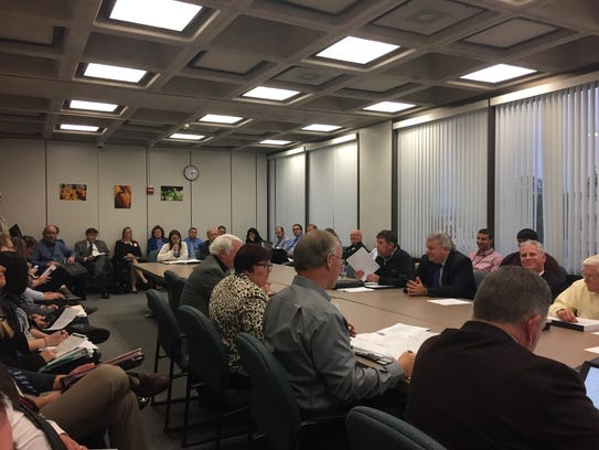 Broome County legislators meet Wednesday, Nov. 1.,