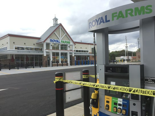 A Royal Farms store in Magnolia is shown prior to its