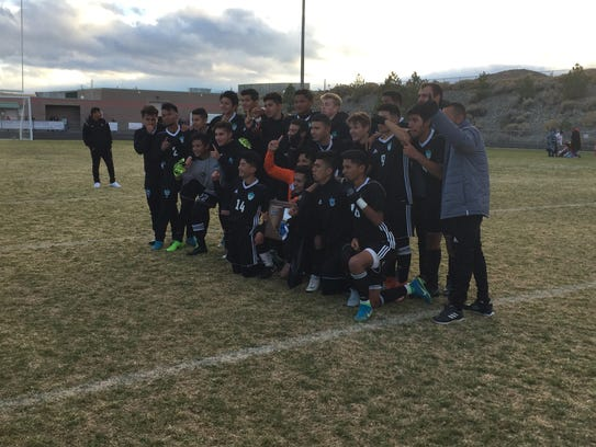 North Valleys won the Northern 4A boys soccer Regional