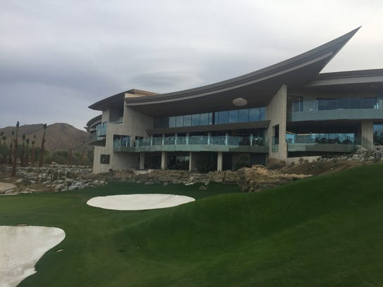 The new clubhouse at Bighorn Golf Club in Palm Desert