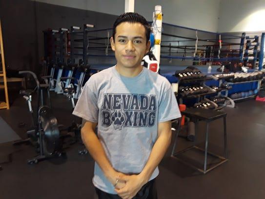 Ricardo Lucio-Galvan will make his pro boxing debut