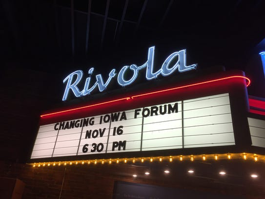 """Changing Iowa"" wrapped its tour of Iowa Nov. 16 at"