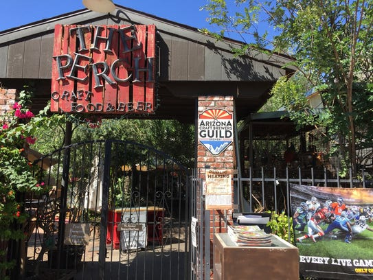 The Perch Pub and Brewery in downtown Chandler.