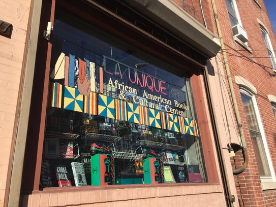 La Unique's modest storefront hides a wealth of culture