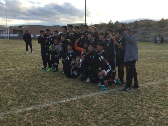 North Valleys won the Northern 4A Region championship.