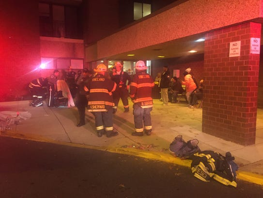 Vineland firefighters responded to Kidston Towers on