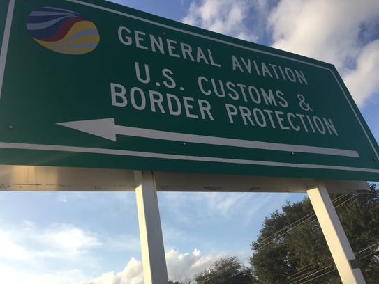 The U.S. Customs and Border Protection Port of Entry
