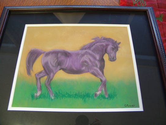Christy Mosier has had a passion for painting horses