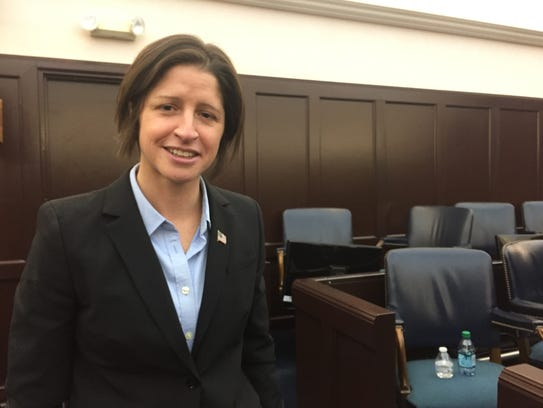 Christina Nolan was publicly sworn in as Vermont's