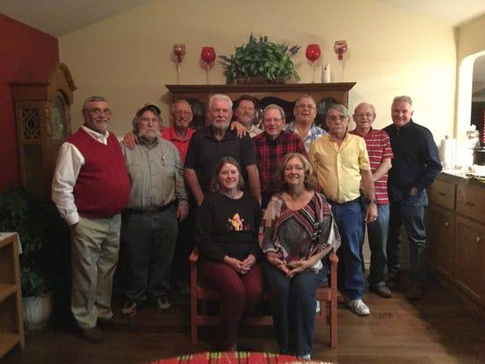 Members of the Abilene High School class of 1969 gather